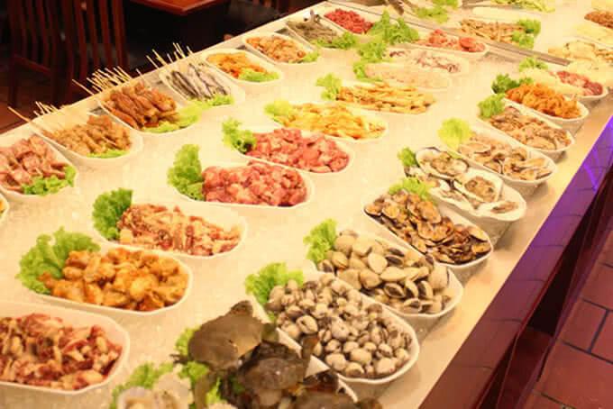 Các món nướng đa dạng