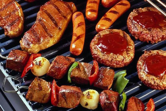 Bếp nướng không khói tại BBQ House Cao Thắng