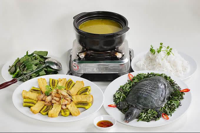 Baba nấu chuối của nhà hàng