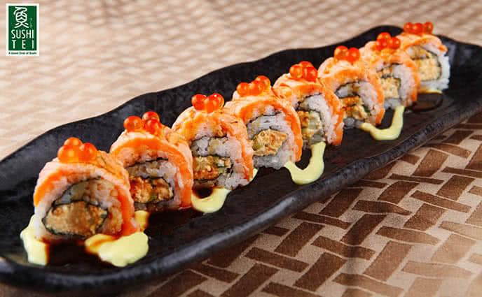 Những chiếc sushi như cả một nghệ thuật