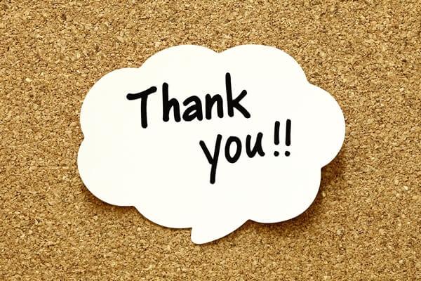 Những lời cảm ơn bằng tiếng anh hay trong tiếng anh giao tiếp thông dụng