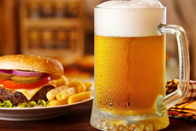 Bia tươi còn đi kèm nhiều món nhắm hoàn hảo
