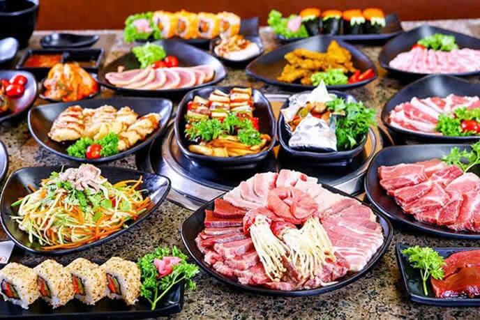 Thực đơn đồ nướng BBQ đa dạng tại Chiaki BBQ