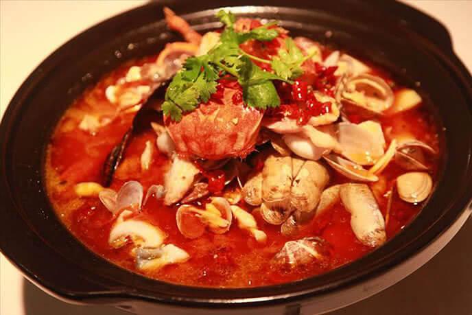 Món ăn hấp dẫn, khó có thể rời mắt của nhà hàng.