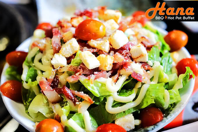 Salad tươi với công thức mayonnaise đặc biệt