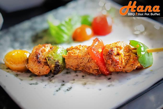 Các món nướng của Hana Điện Biên Phủ cực kỳ nổi tiếng