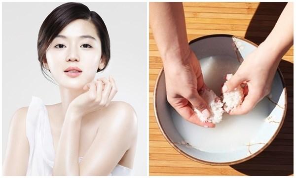 Cách rửa mặt bằng nước vo gạo đúng cách hiệu quả