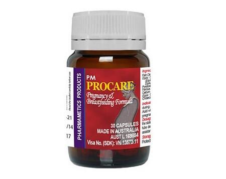 Vitamin tổng hợp cho bà bầu 2: Procare – 200k/hộp