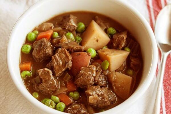 Cách Làm Bò Nấu Đậu Hà Lan - Bắp Bò Hầm Đậu Trắng