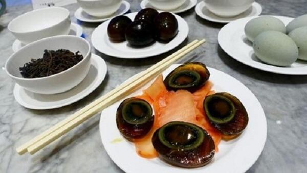 Các món ăn chế biến từ trứng vịt bắc thảo