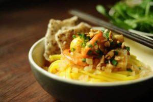 Cách Nấu Mì Quảng Gà - Mì Quảng Tôm Thịt Heo - Mì Quảng Bò