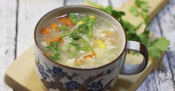 Món súp được xem là một trong những món ăn khai vị được ưa thích