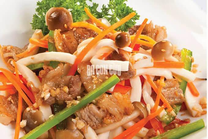 Salad cừu nấm