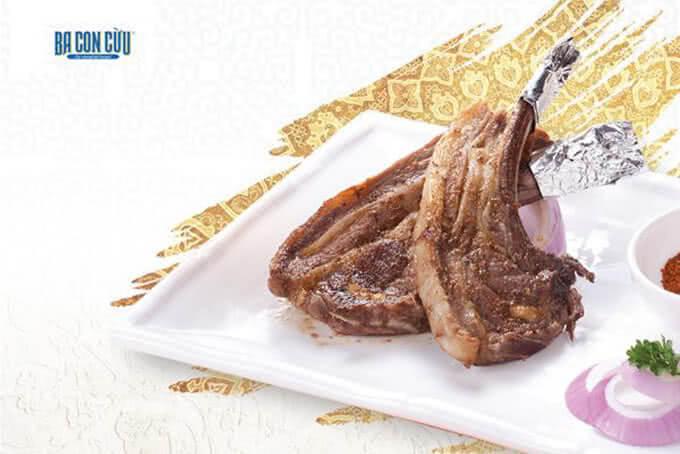 Thịt cừu xiên nướng Shashilik