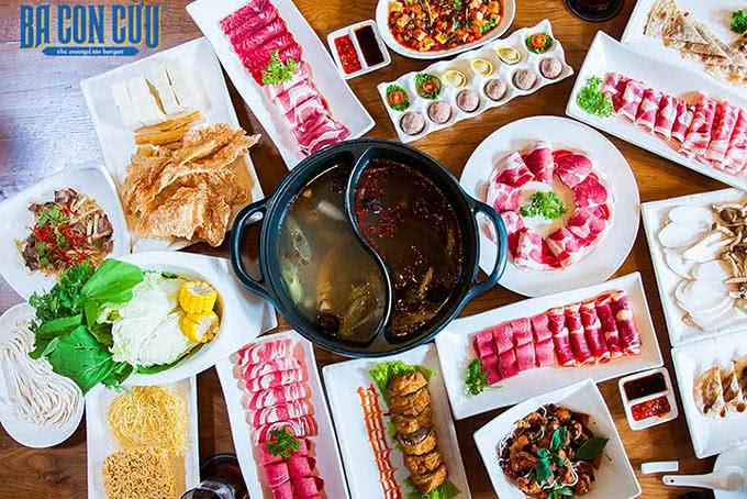 Những hương vị Trung Á và Tứ Xuyên thú vị tại Ba Con Cừu
