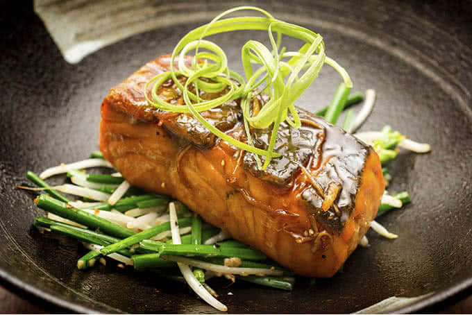 Hay Cá hồi bổ dưỡng, thơm ngon
