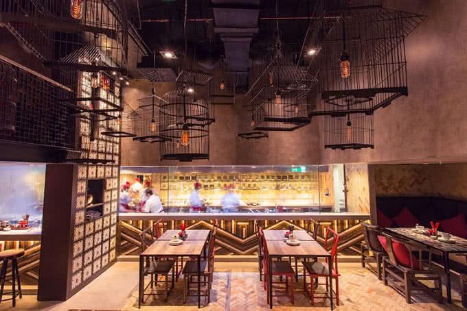 Không gian bếp mở để thực khách có những trải nghiệm ẩm thực sâu sắc hơn