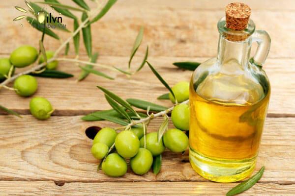 Các axít béo thiết yếu có nhiều trong dầu oliu