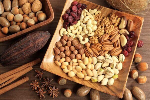 Các loại hạt, ngũ cốc rất giàu vitamin