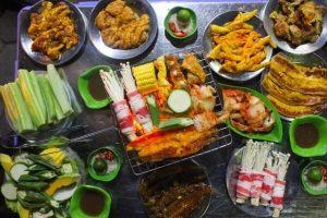 Các quán nướng ngon ở Hà Nội - Ăn đồ nướng, lẩu nướng tại Hà Nội