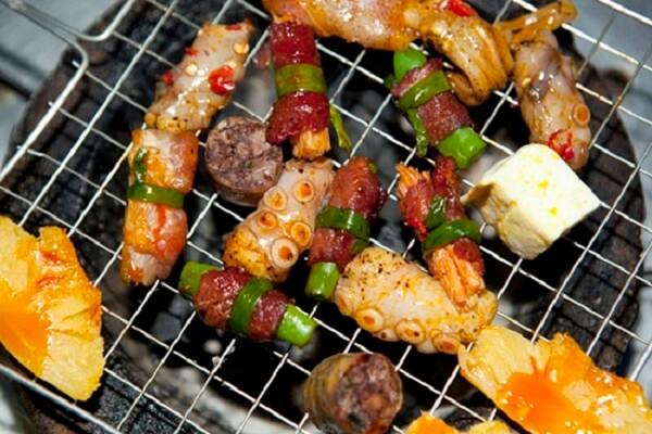 Quán nướng một giá - quán lẩu nướng sinh viên Hà Nội