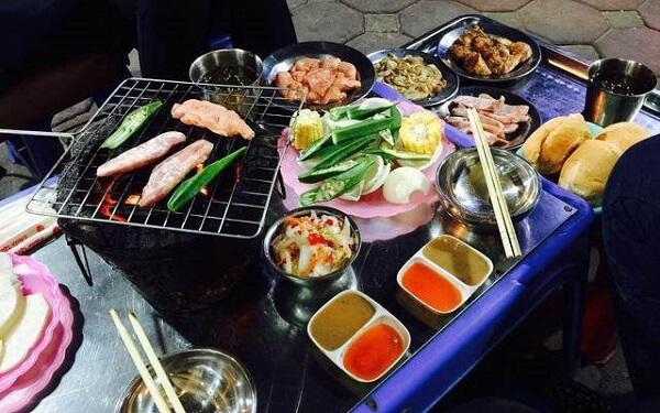 Quán lẩu nướng sinh viên Hà Nội - Reng nướng