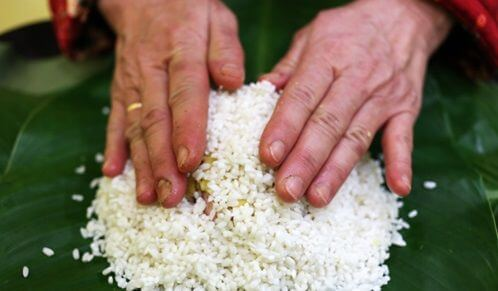 Phủ thêm 1 lớp gạo bên trên