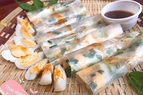 Cách Làm Bánh Tráng Cuốn Trứng Cút Tại Nhà - Món Ăn Vặt Hot 2018