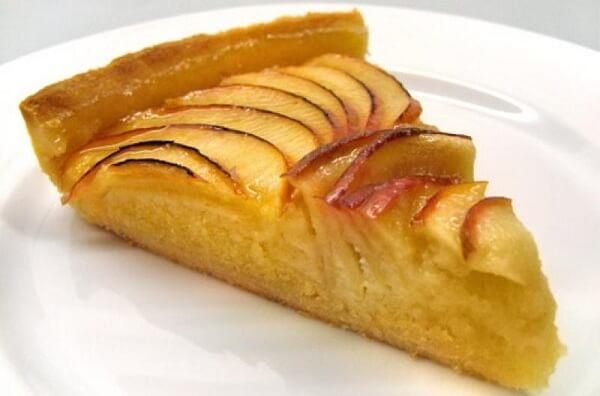 Chiếc bánh táo trông thật ngon miệng!
