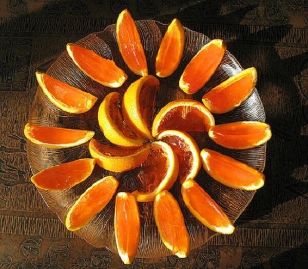 Thạch rau câu dẻo trái cam