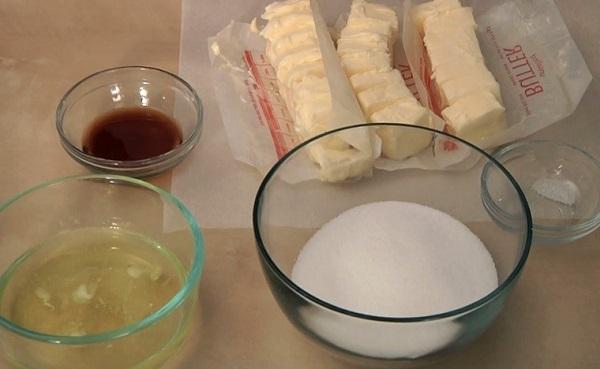Nguyên liệu làm kem bơ