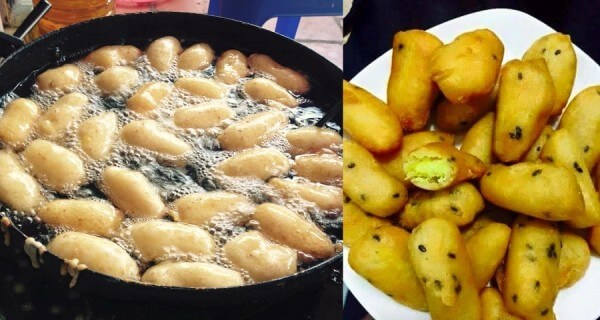Khoai lang kén – bánh khoai lang kén hà nội