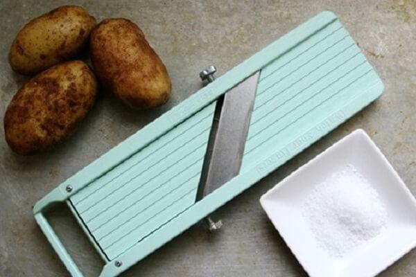 Dụng cụ làm khoai tây chiên giòn
