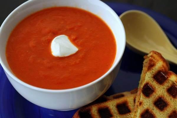 Súp thịt bò cà chua
