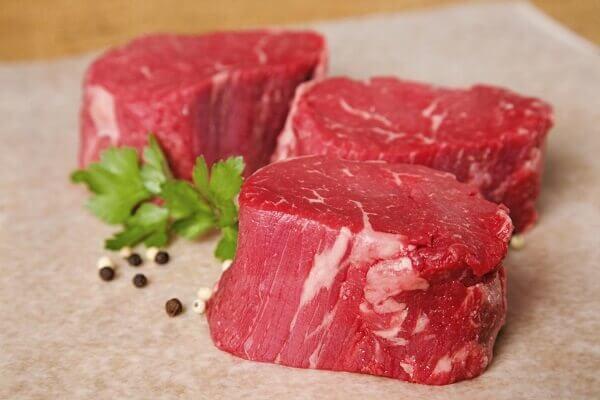 Thịt bò tươi luôn là bý quyết thành công của món ăn