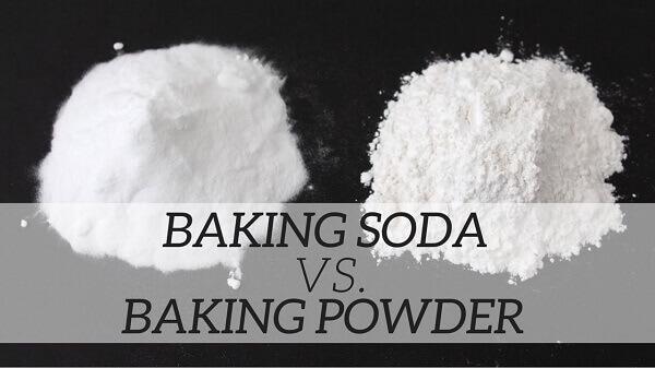 Muối nở (baking soda) là một trong những thành phần của bột nổi (baking powder)