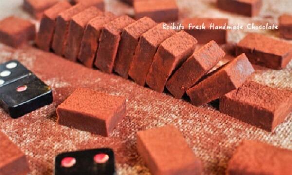 Nama chocolate là một món tráng miệng nổi tiếng của Nhật