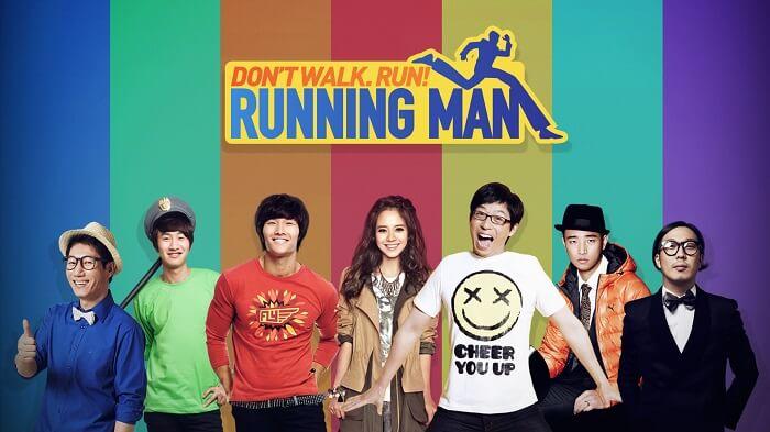 Running Man được chiếu vào 5pm KST