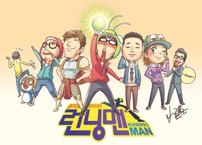 Running Man là chương trình được yêu thích thứ 9 trên thế giới