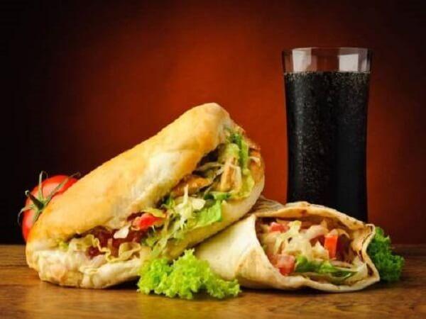 Bánh mì Tây Ban Nha Doner Kepab Thanh Phong