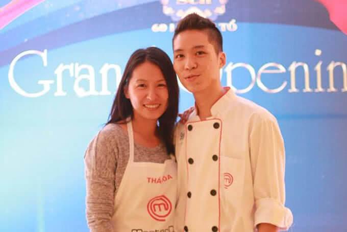 Quốc Trí – Á Quân MasterChef và Thái Hòa có mặt tại sự kiện khai trương nhà hàng