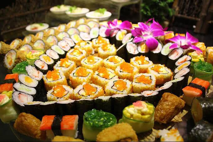 Sushi – Sắc màu Nhật Bản đầy quyến rũ