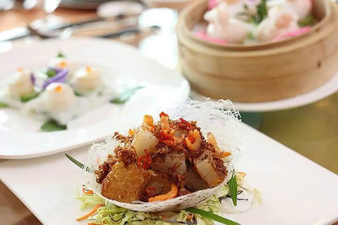 Món Trung phô diễn sự cầu kỳ, khéo léo của đầu bếp nhà hàng Windsor Buffet