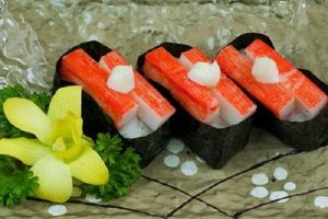 Thanh Cua Là Gì, Làm Từ Gì - Cách Làm Sushi Thanh Cua Nhật Bản