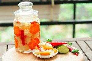 Cách làm dưa món ngâm nước mắm chua ngọt ngon ngày Tết