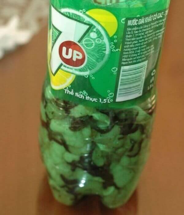 Cách làm giò thủ bằng chai nhựa