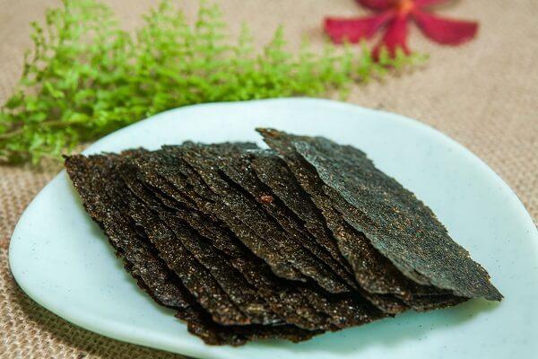 Rong biển được chế biến nhiều món ăn vặt ngon thú vị