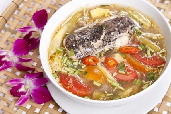 Cách làm canh chua nấu cá đuối