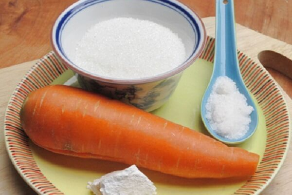 Nguyên liệu làm mứt cà rốt