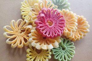 Cách làm mứt dừa hình hoa cúc ngũ sắc đẹp mắt ngày Tết